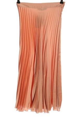 Zara Jupe plissée rose chair style décontracté