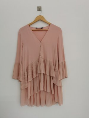 Zara Long Sleeve Blouse pink
