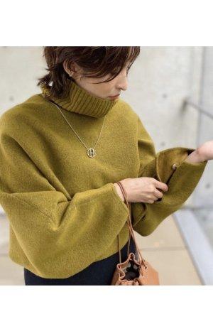 ZARA Poncho Pullover gr S M grün neu mit Etikett