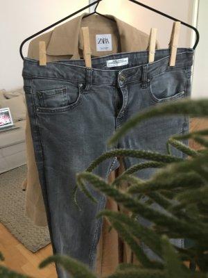 Zara Premium Collection Jeans in Grau