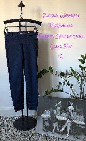 ZARA Premium Denim Collection / Jeans / Slim Fit / Gr. XS / dunkelblau / Business & Casual Look