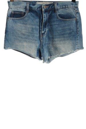 Zara Premium Jeansowe szorty niebieski W stylu casual
