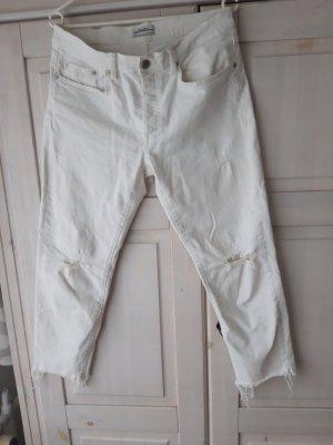 Zara Jeans a 3/4 bianco