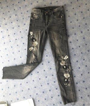 Zara Print-Jeans, neuwertig in 32!