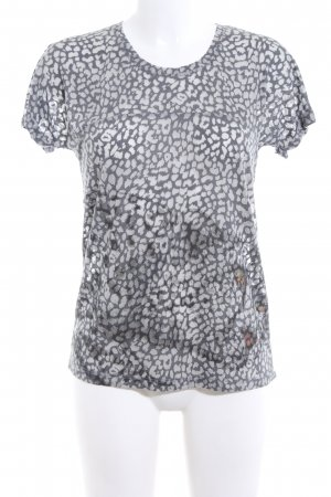 Zara Print-Shirt Animalmuster Casual-Look