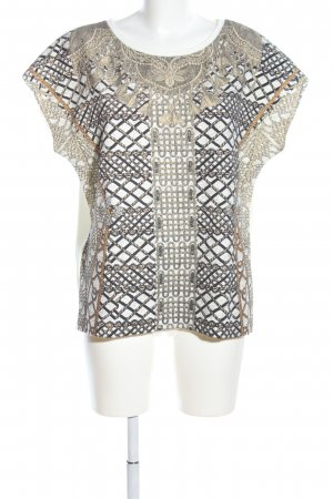 Zara Print-Shirt Motivdruck Casual-Look