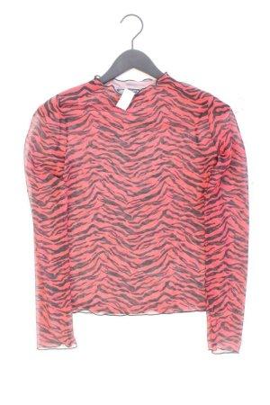 Zara Printshirt Größe M mit Tierdruck Langarm rot