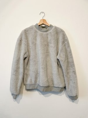 Zara Pull polaire gris clair