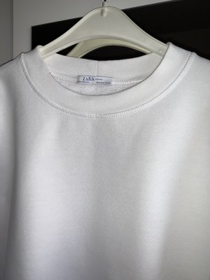 Zara Crewneck Sweater white