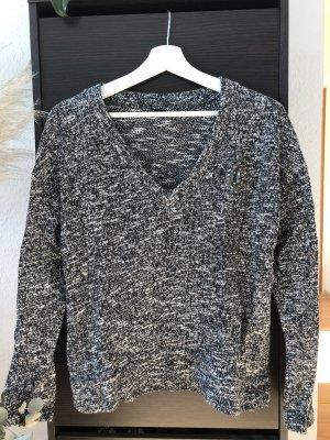 Zara Pullover aus Baumwolle mit Brosche | M