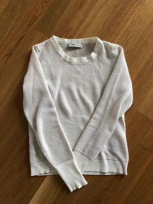 Zara Pullover, beige, Gr. 38/M, nur 2x getragen, NEU