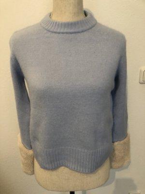 Zara Pullover, blau, Gr. XS, neu