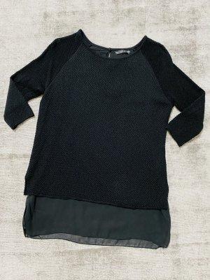 Zara Pullover Bluse Gr S/M schwarz
