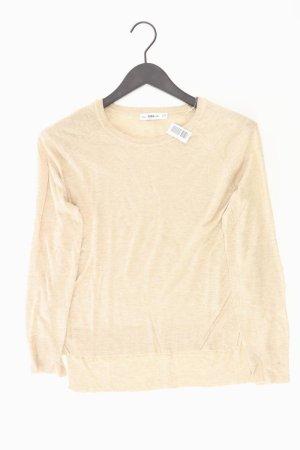 Zara Pullover creme Größe M
