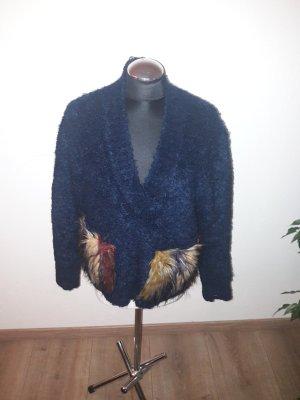Zara pullover felltaschen gr. 36