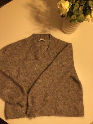Zara Pullover grau
