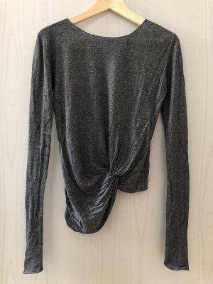 Zara Pullover Große S Silber Farbe