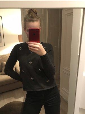 Zara Pullover in dunkelgrau S