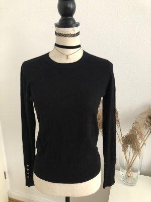 Zara Pullover in schwarz, Gr. S, NEU