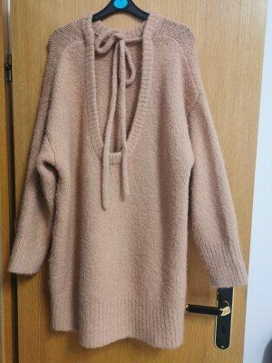 Zara Pullover Kleid Rückenausschnitt