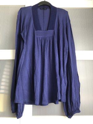 Zara Pullover M blau