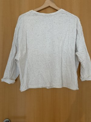 Zara Trafaluc Maglione a maniche corte crema-beige chiaro