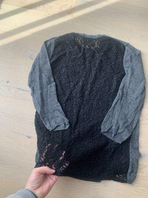 Zara Pullover mit durchgehend spitze Rücken