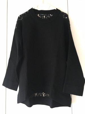 Zara Pullover mit Spitzendetails
