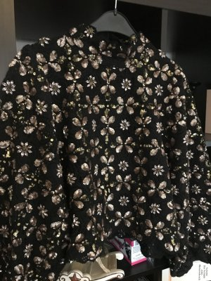 Zara Crochet Sweater multicolored cotton