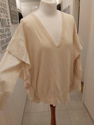 Zara Pullover mit V-Ausschnitt