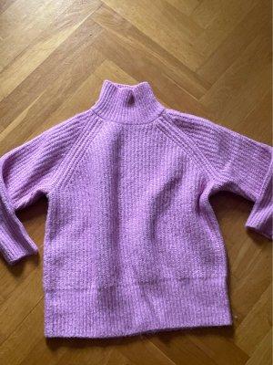 Zara Pullover sweater Gr S 36 Flieder