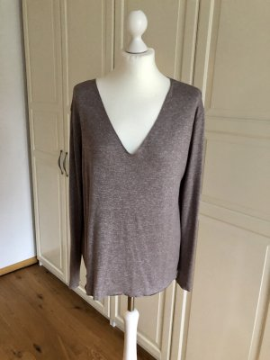 Zara Pullover taupe XL