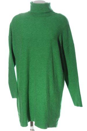 Zara Abito maglione verde stile casual