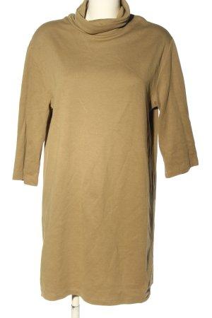 Zara Pulloverkleid braun Casual-Look