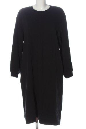 Zara Pulloverkleid schwarz Casual-Look