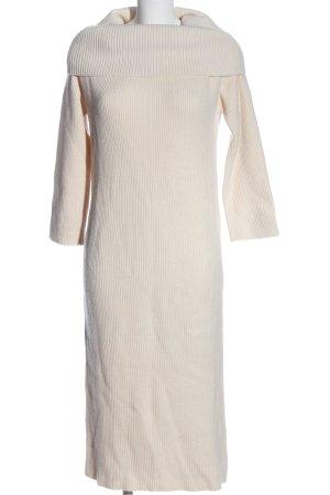 Zara Sweater Dress natural white casual look