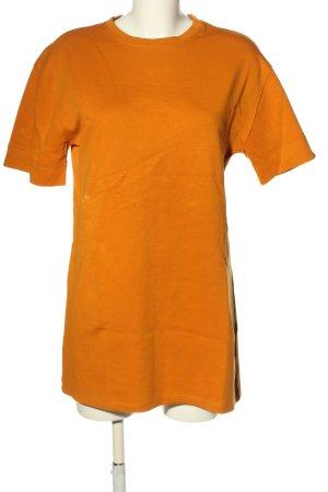 Zara Sweater Dress light orange casual look