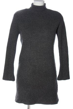 Zara Pulloverkleid hellgrau meliert Casual-Look