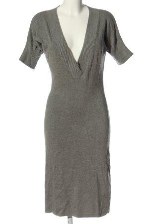 Zara Swetrowa sukienka jasnoszary Melanżowy W stylu casual