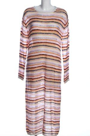Zara Sweaterjurk gestreept patroon casual uitstraling