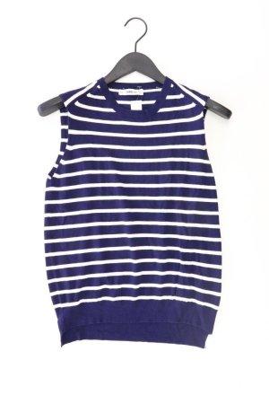 Zara Pull sans manches bleu-bleu fluo-bleu foncé-bleu azur viscose