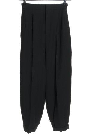 Zara Flodderbroek zwart casual uitstraling