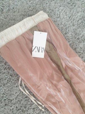Zara Pololo color rosa dorado