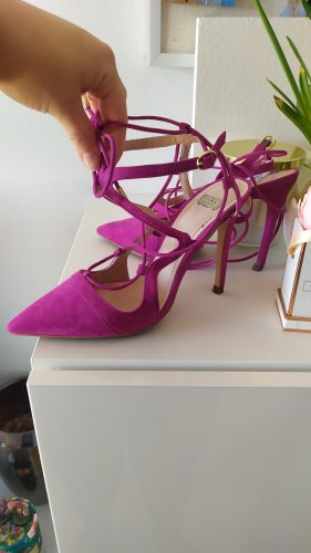 Zara Pumps High Heels Gr. 38 Pink
