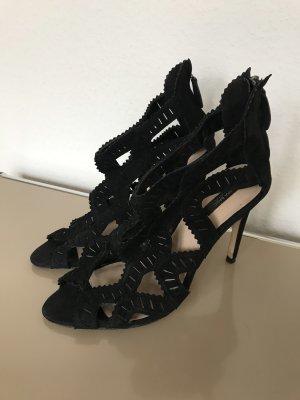 Zara Pumps High Heels Sandalen Schwarz Gr. 39 - nur einmal getragen 100% neuwertig!