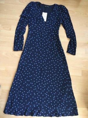 Zara Longsleeve Dress blue-light blue