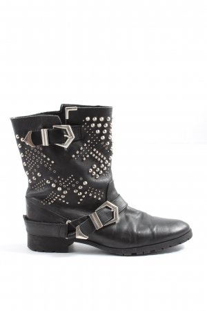 Zara Stivaletto western nero stile casual