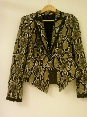 Zara Reptilienprint-blazer