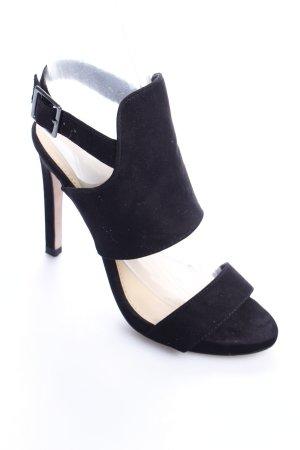 Zara Riemchenpumps schwarz Elegant