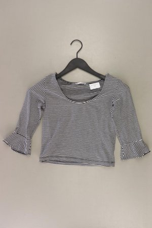 Zara Stripe Shirt black cotton